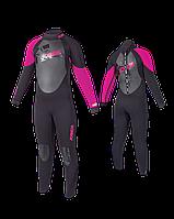 Гидрокостюм детский длинный Jobe Progress Rebel 3.0/2.5 Pink (XS)