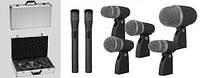 Аренда, прокат комплект микрофонов для ударной установки Dexun в Киеве
