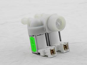 Клапан подачи воды для стиральных машин 2/180 (под фишку спереди), фото 2
