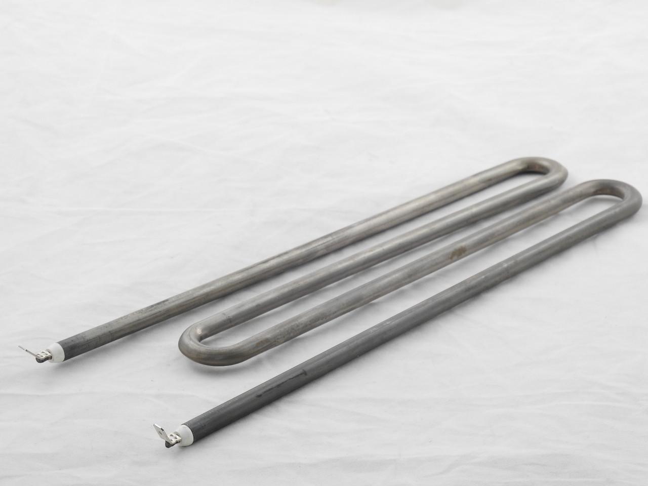 Тэн для стиральных машин Miele 3000W L=300 мм. расстояние между контактами 8 см.