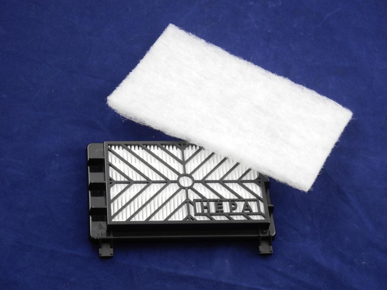 Комплект фильтров на выход (HEPA12) FC8044/01 для пылесоса Philips (432200039090-1)