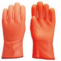 Перчатки утепленные, покрытые ПВХ, размер 9,5