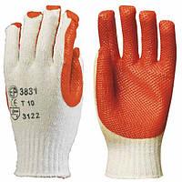 Перчатки грузчика, покрытые латексом