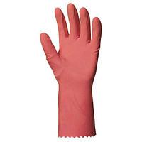 Перчатки латексные хозяйственные для уборки. К20Щ20. Размеры 7-10