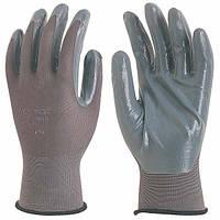 Перчатки для точных работ, покрытые нитрилом.