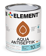 Антисептик, ТМ ELEMENT Aqua Antiseptik цветной, 10L
