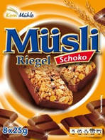 Мюсли Müsli riegel schoko-orange