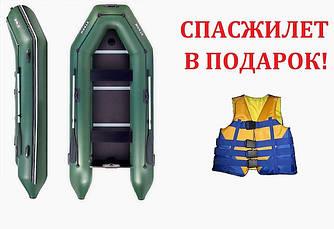 АКЦИЯ! Надувная килевая ПВХ лодка STORM STK360 СПАСАТЕЛЬНЫЙ ЖИЛЕТ в ПОДАРОК!