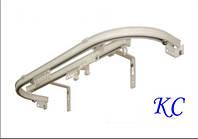 Карниз алюминиевый потолочный KS для арок им эркеров