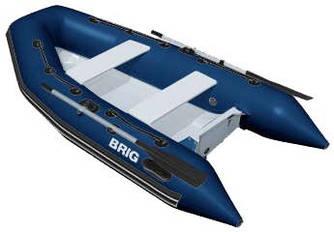 Надувная лодка со стеклопластиковым корпусом Brig F275