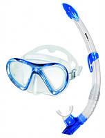 Набор RADAR+BREEZER (маска + трубка) для подводного плавания (синий)