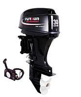 Двухтактный лодочный мотор Парсун T30FWS с дистанционным управлением(бензомотор с доставкой )