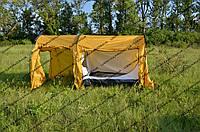 Палатки четырехместные двухслойные- новинка! (Палатки для рыбалки)