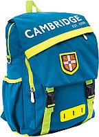 """Рюкзак подростковый CA056 """"Cambridge"""", бирюзовый 552940"""