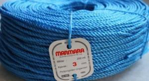 Крученая полипропиленовая верёвка MARMARA 3 / 200 м.