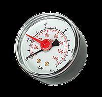 """RS-K 1/4"""" ф.50 Манометр фронтальный 0-6 bar с доп. стрелкой"""