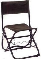 Удобный рыбацкий стул с подставкой для удочки Voyager FS-98418B-3