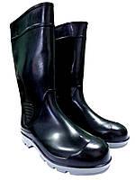 Резиновые сапоги мужские «Штамп-3» черные