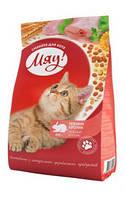 """Сухой корм для котов """"Мяу"""" нежный кролик  400 грамм"""