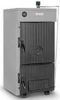 Универсальный твердотопливный котел отопления Calgoni Caldo 04 А/С (на дровах и угле)