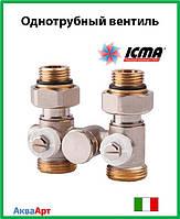 Icma Однотрубный вентиль для панельного радиатора со встроенной термостатической группой Арт. 902