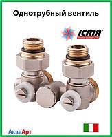 Icma Однотрубный вентиль для панельного радиатора со встроенной термостатической группой Арт. 903