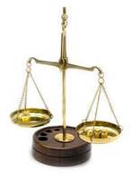 Весы бронзовые