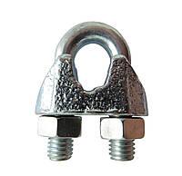 Зажим для стальных канатов DIN 741 6 мм (М6) оцинкованный