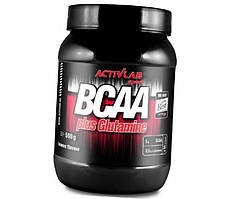 BCAA plus Glutamine 500 g orange