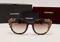 Женские солнцезащитные очки D&G 7897 лео, фото 1