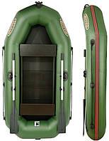 Двухместная надувная ПВХ лодка V245LSP(PS) с привальным брусом
