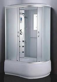 Гидромассажный бокс BADICO ECO 69120-L левосторонний 120х80х215 с глубоким поддоном