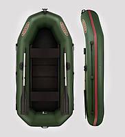 Двухместная надувная ПВХ лодка V260LSP(PS) с привальным брусом