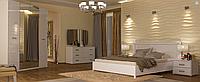 Спальня Белла (белый глянец) (с доставкой)