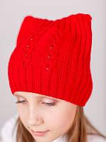 Детская шапка Косички