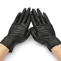 Перчатки Нитриловые неопудренные 100 шт. black, XS, S, M, L
