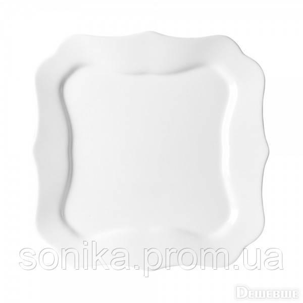Тарілка обідня Luminarc Authentic White 26 см J1300