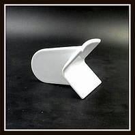 Утюжок угловой (маленький) для мастики, теста, марципана, полимерной глины