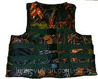 Жилет страховочный камуфлированный Дуб 70-90 кг