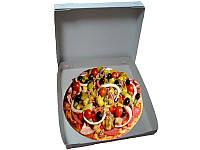 Дешевые коробки для пиццы 240х240х40 мм, фото 1