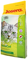 SensiСat сухой корм супер-премиум класса компании Josera для кошек с чувствительным пищеварением