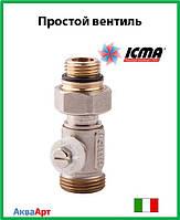 Icma Простой вентиль для панельного радиатора со встроенной термостатической группой Арт. 916