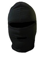 Балаклава флисовая с двумя отверстиями (одежда маскировочная, шапка-маска для охоты, военная одежда)