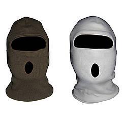 Маски-балаклавы вязаные (зимние, военные, армейские)