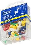 Кнопки-гвоздики цветные 50шт, фото 2
