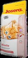 Minette сухой корм супер-премиум класса компании Josera для котят, кормящих и беременных кошек