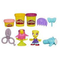 Play-Doh Город Игровой набор Житель и питомец, Hairdresser B3411