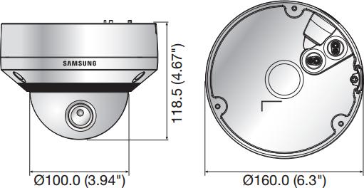 Видеокамера Samsung SNV-6084RP, фото 2