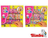 Наклейки для девочек 1000 шт Simba 6301447