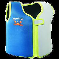 Детский жилет для плавания XS 2-4 года (зеленый)